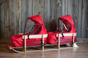 ST. NICK DONNER DUO TODDLER SLEIGH LOADED